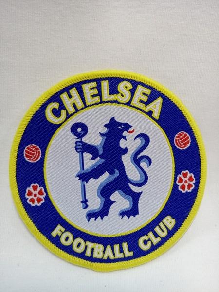 нашивка Chelsea  8 см х 8 см