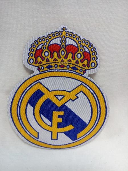 нашивка Real Madrid  8 см х 6 см