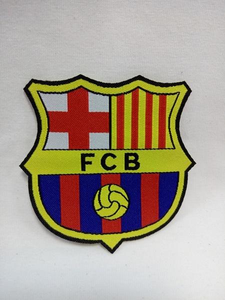 нашивка Barcelona  6,5 см х 6,5 см