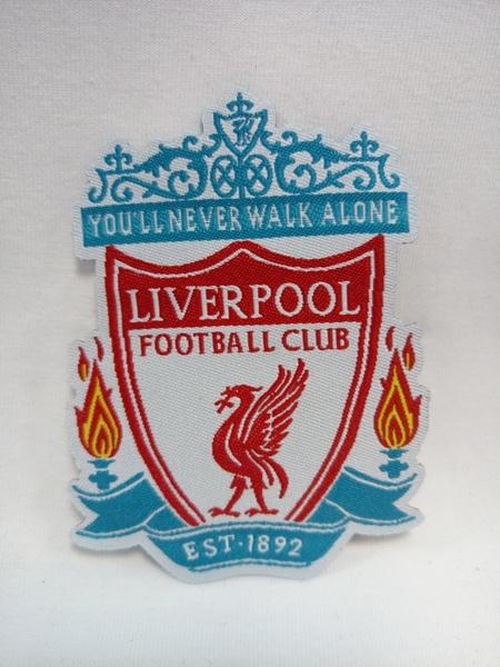 нашивка Liverpool  8 см х 8 см