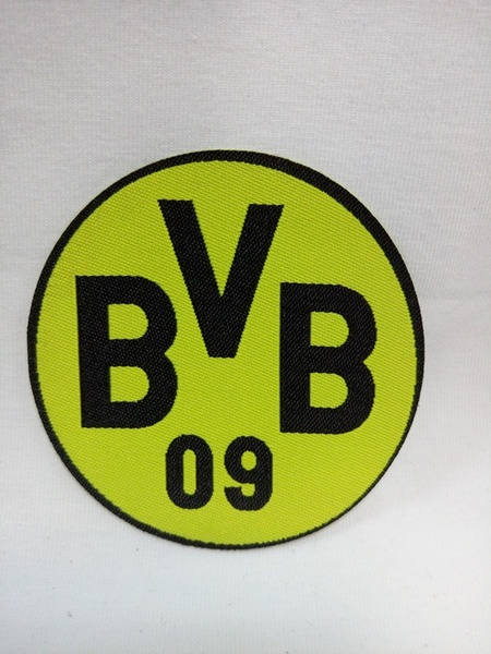 нашивка Borussia Dortmund  7 см х 7 см
