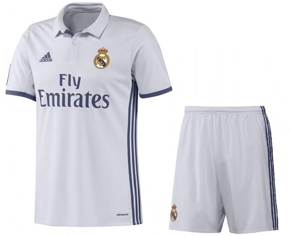 форма детская Real Madrid(adidas)(2016-2017)