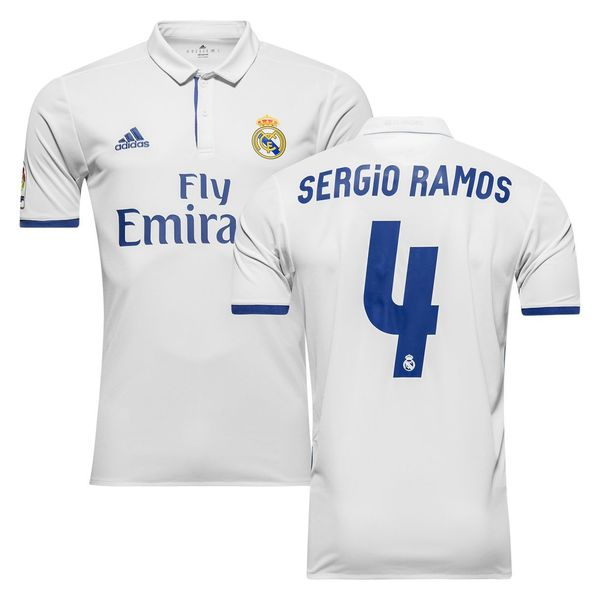 форма Real Madrid №4 SERGIO RAMOS(2016-2017)