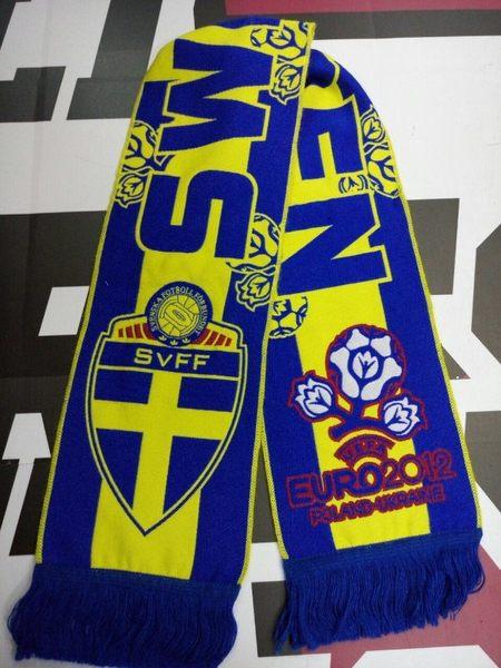 шарф сборной Швеции