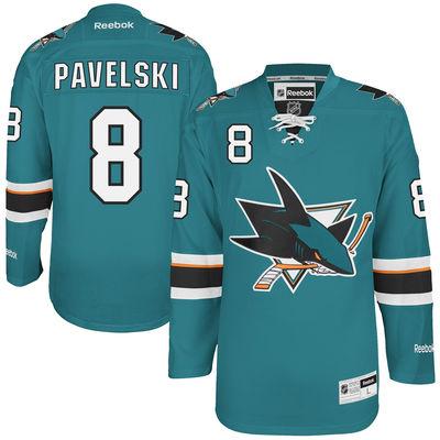 свитер San Jose Sharks №8 PAVELSKI