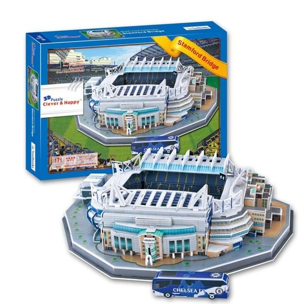 пазл Stamford Bridge 3D(38,5cm x 30cm x 12cm)