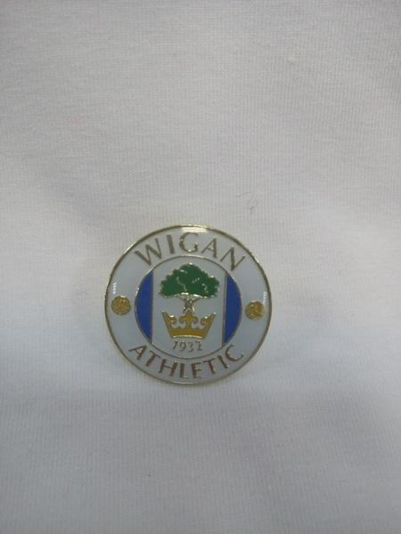 значок Wigan Athletic(№0123)